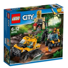 Lego LEGO City 60159 jungle missie met halfrupsvoertuig