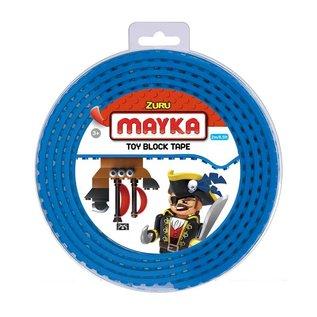 Zuru-Mayka Zuru-Mayka W2B Block Tape 4 Noppen 2m Blauw - LEGO Compatible