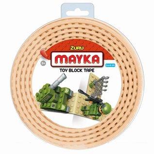 Zuru-Mayka Zuru-Mayka W2SN Block Tape 4 Noppen 2m Zand - LEGO Compatible