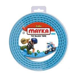 Zuru-Mayka Zuru-Mayka W2LB Block Tape 4 Noppen 2m Licht Blauw - LEGO Compatible