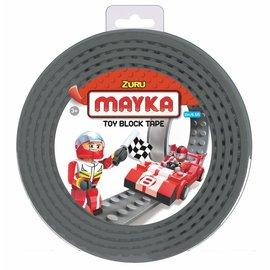 Zuru-Mayka Zuru-Mayka O2GY Block Tape 2 Noppen 2m Grijs - LEGO Compatible