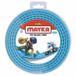 Zuru-Mayka Zuru-Mayka O2LB Block Tape 2 Noppen 2m Licht Blauw - LEGO Compatible