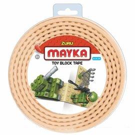 Zuru-Mayka Zuru-Mayka O2SN Block Tape 2 Noppen 2m Zand - LEGO Compatible