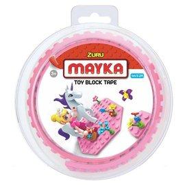 Zuru-Mayka Zuru-Mayka O1PK Block Tape 2 Noppen 1m Roze - LEGO Compatible