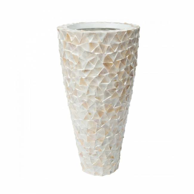 Mother Of Pearl Vase H140cm The Grand Interior