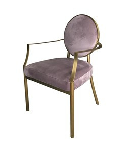The Grand Ghost Chair Viola Velvet