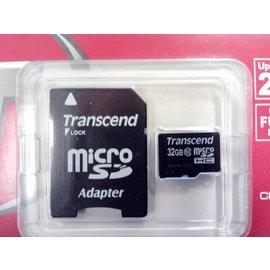 Micro SD card 32 GB + Adapter