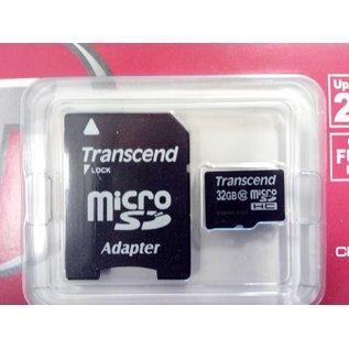 Transcend Micro SD card 32 GB + Adapter