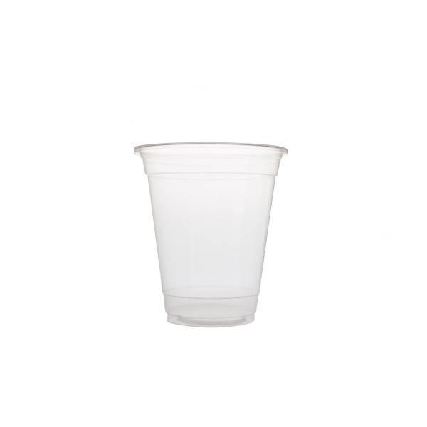 Plastic bekers 360ml Blanko