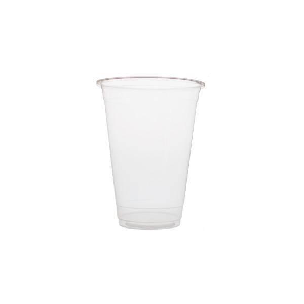 Plastic bekers 700ml Blanko