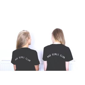 OLIVE AND FRANK BAD GIRLS CLUB TEE