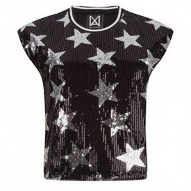 MALIFICENT STARS TOP BLACK