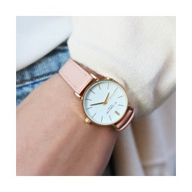 SMALL SOFT PINK ROSE WATCH