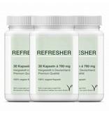 3 x Refresher-Grüner Tee Extrakt/Camellia Sinensis