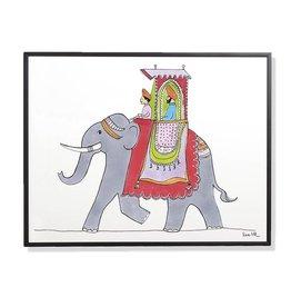 Maharaja - gerahmt