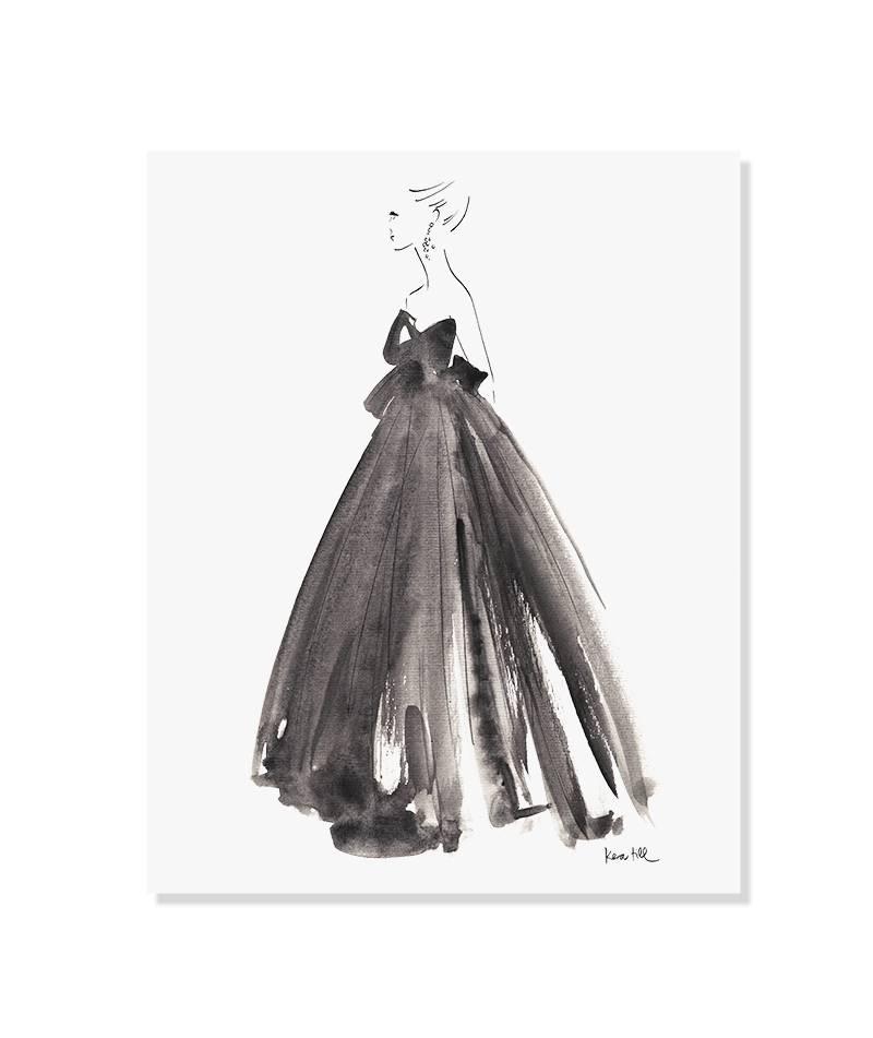 Gown - ungerahmt
