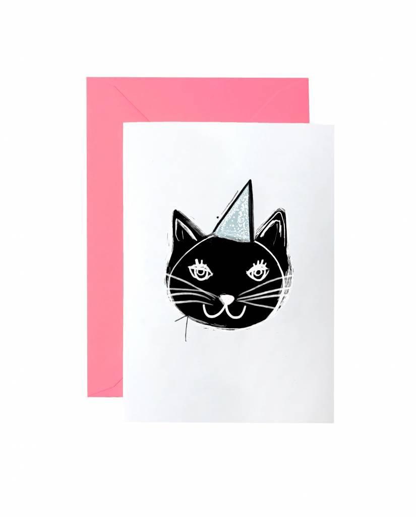 "Grußkarte ""Kitty"""