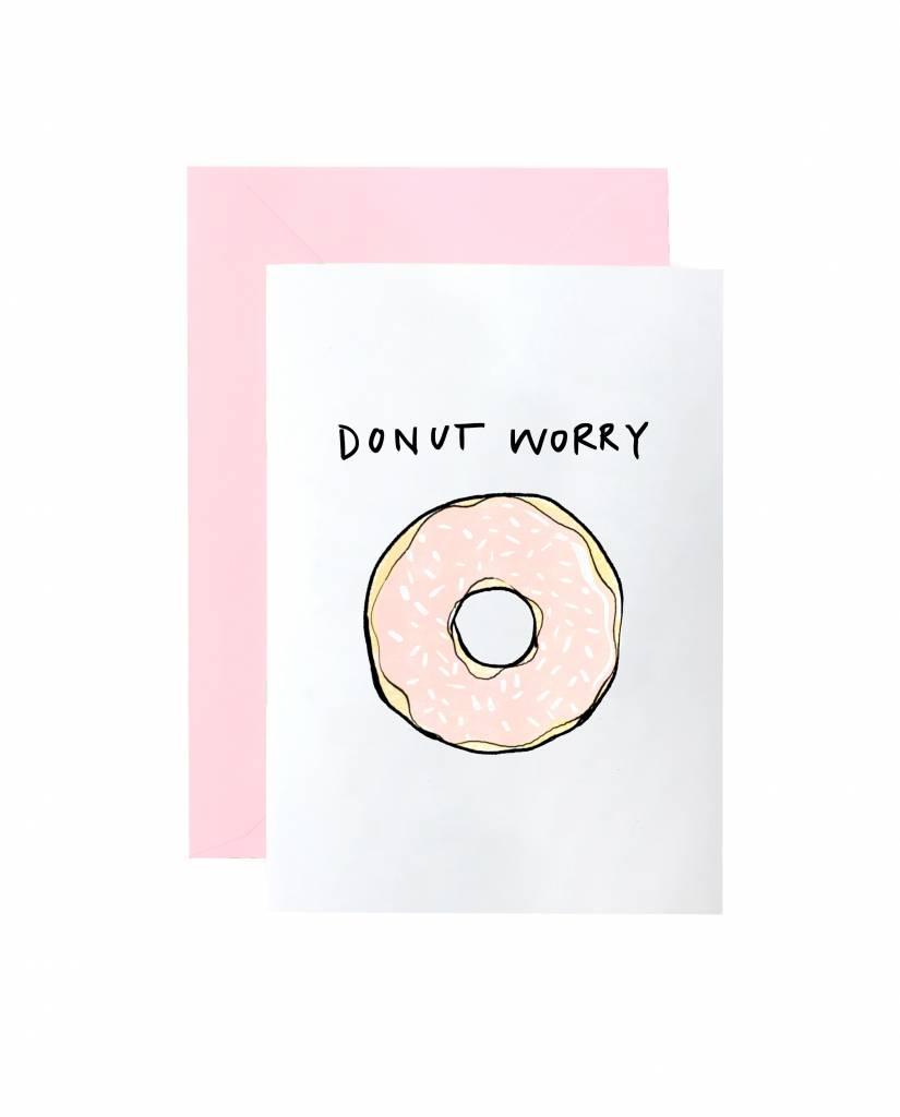"""Grußkarte """"Donut Worry"""""""