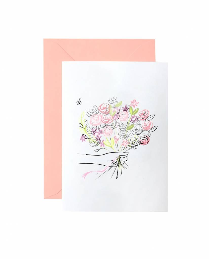 "Grußkarte ""Bouquet"""