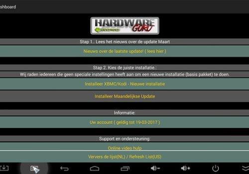 Maandelijkse update HardwareGuru