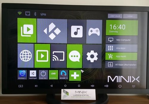 Oude MINIXMC app verwijderen en nieuwe MINIXMC 16.1 installeren