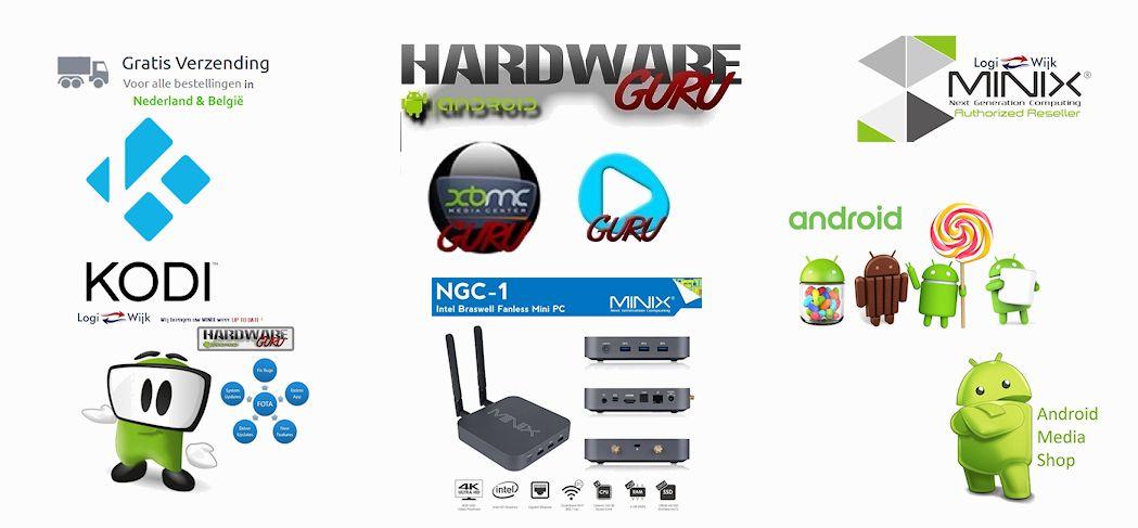 Wij zijn Officieel Reseller van Minix en HardwareGuru