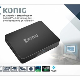 König König Compare 4K Android Streaming Box Fly Mouse