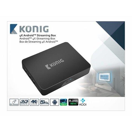 König König 4K Android Streaming Box met Fly Mouse