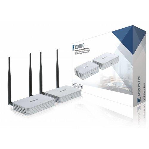 König König 5 GHz Draadloze HDMI Zender 1080p / 3D Podpora - Bereik 100 m