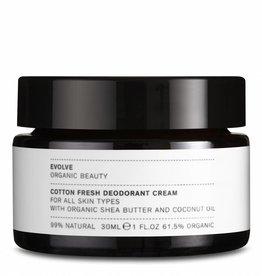 Evolve  Beauty skincare  Cotton Fresh Deodorant Cream