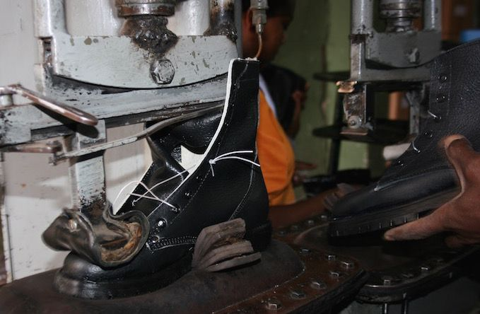 Behind the scenes: the making of TDleatherboots