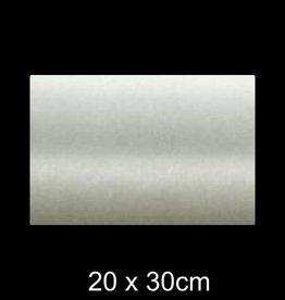 RVS Naamplaat 20x30 cm