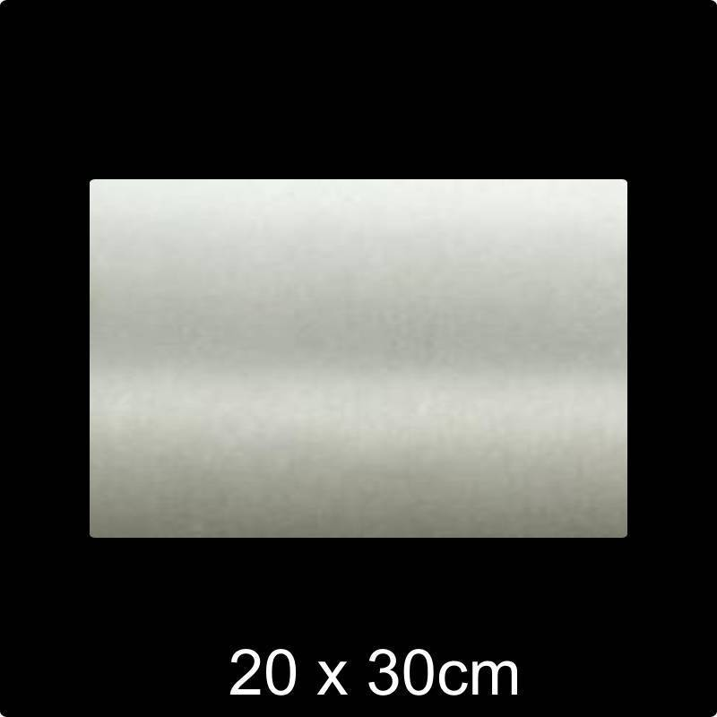 RVS Naamplaat 20x30 cm INOX