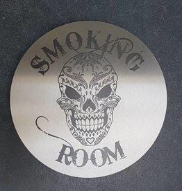 rookruimte bord rvs 25cm