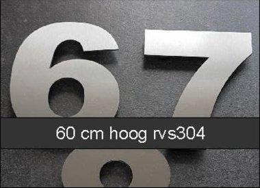 Huisnummers 60 cm