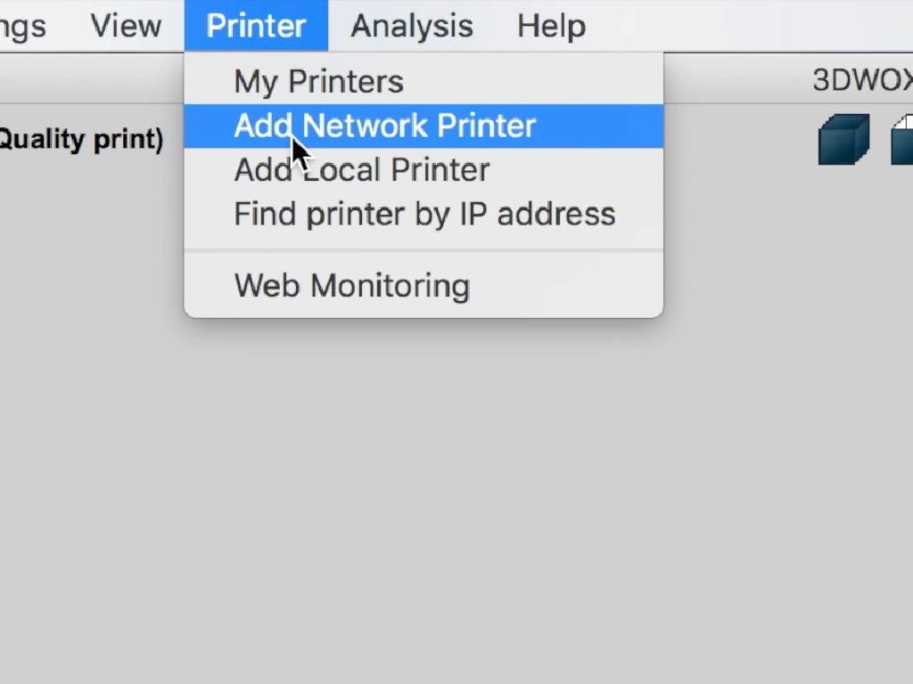 add network printer