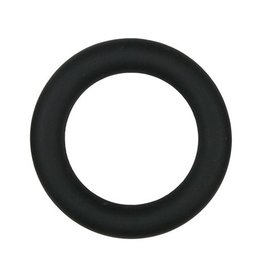 Easytoys Men Only Easytoys Siliconen Cockring Medium - Zwart