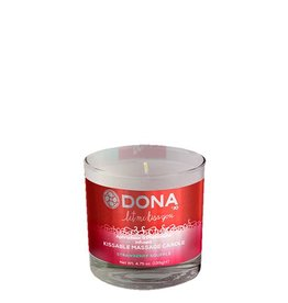 Dona-by-Jo Dona Kissable Massage Candle Strawberry