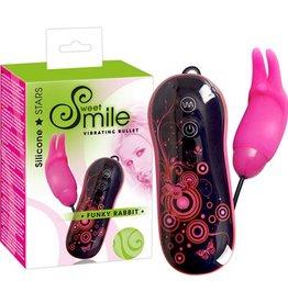 Sweet Smile Mini Rabbit Vibrator - Roze