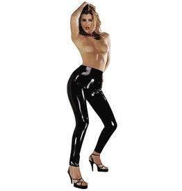 The Latex Collection Glanzende zwarte latex legging