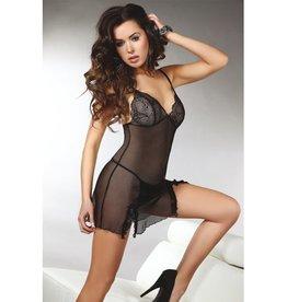 Livia Corsetti Fashion Zwart lingerie jurkje
