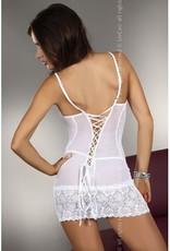 Livia Corsetti Fashion Constance Jurkje inclusief String - Wit