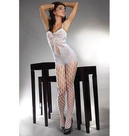Livia Corsetti Fashion Artemida Catsuit - Wit
