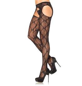 Leg Avenue Kanten Panty Met Jarretel Effect