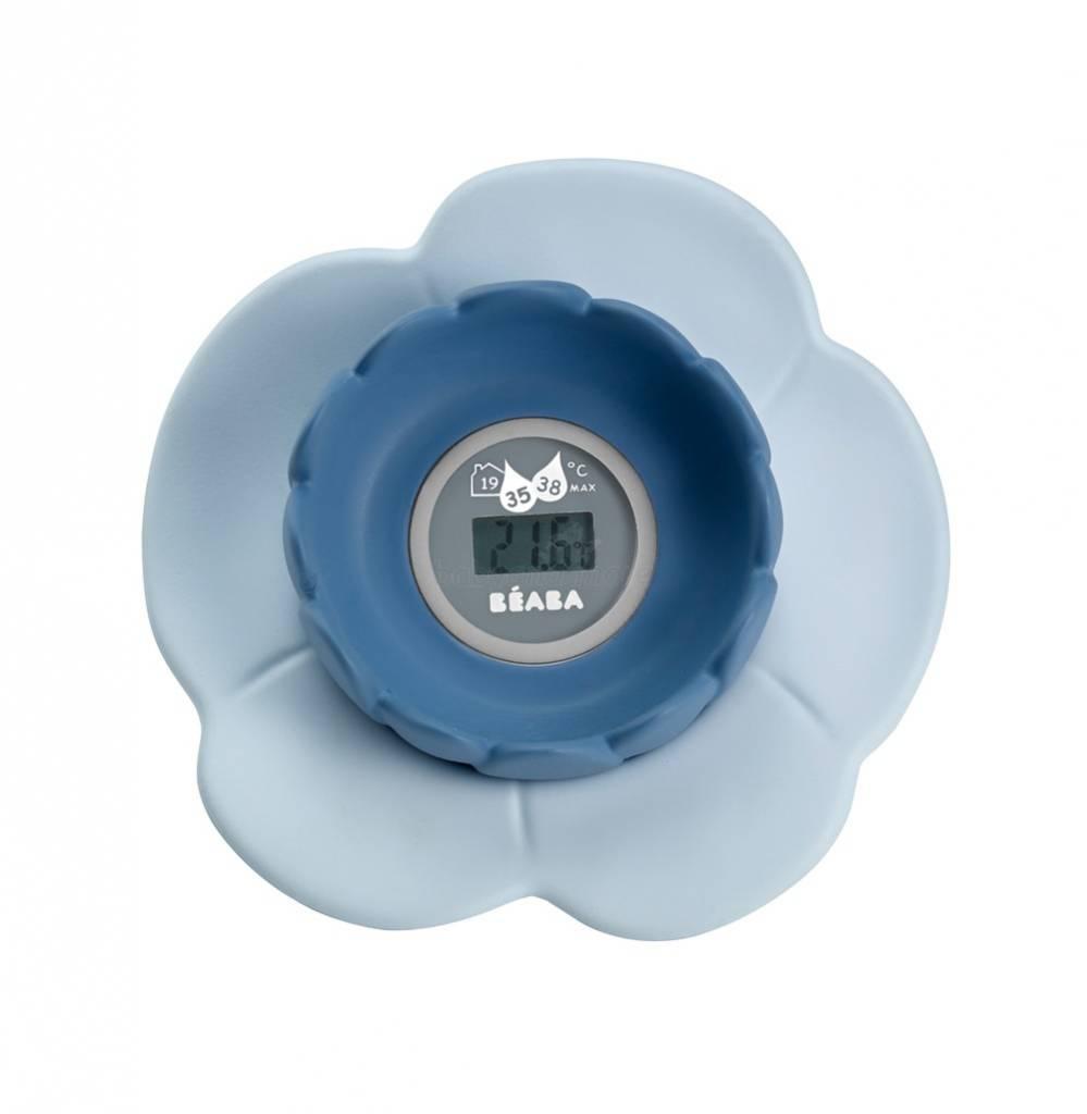 Béaba Béaba digitale badthermometer lotus blauw