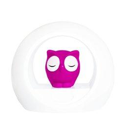 Zazu Zazu nachtlampje met geluidssensor Lou roze