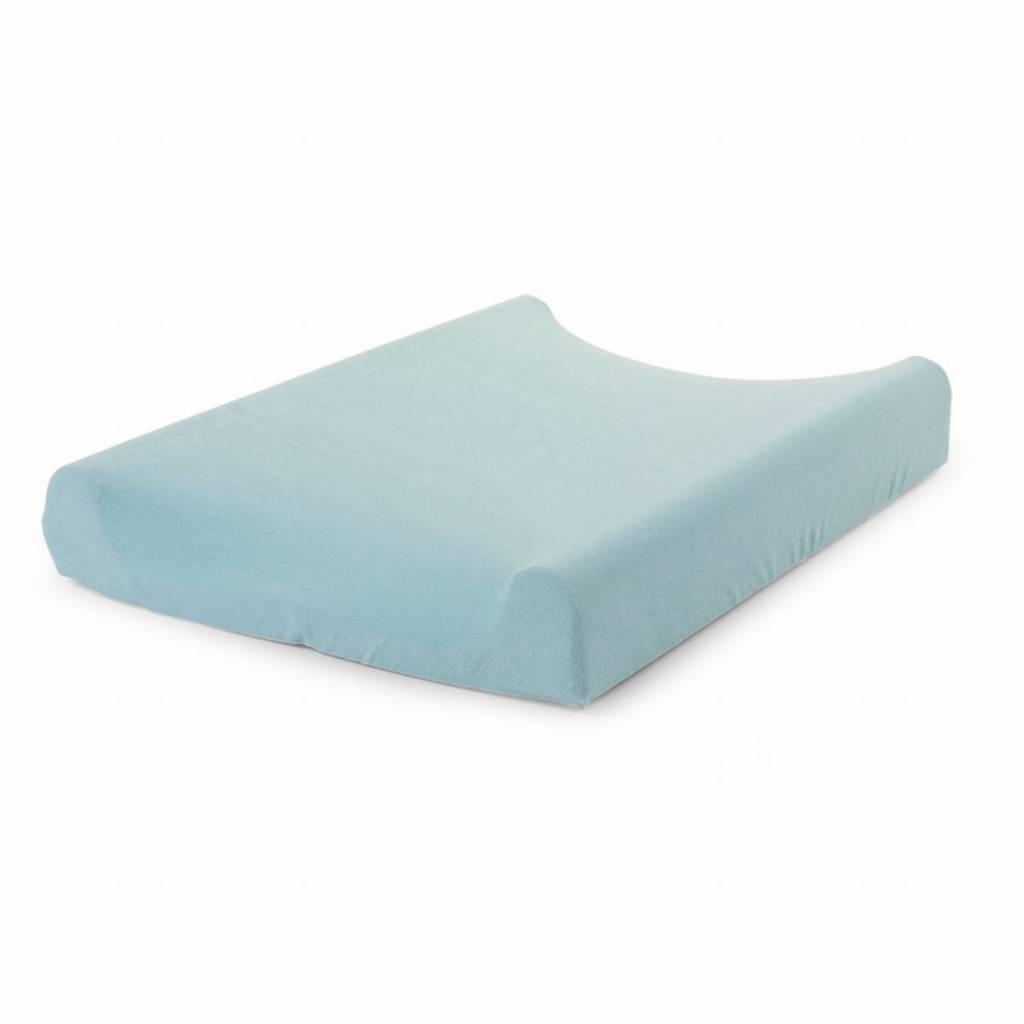 Childhome Childwood aankleedkussenhoes mint blauw