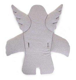 Childhome Childwood stoelkussen engel jersey grijs