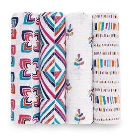 Aden + Anais Aden + Anais tetradoeken 4pack flip side