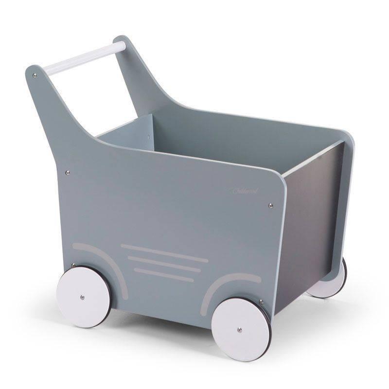 Childhome Childwood houten wandelwagen mint